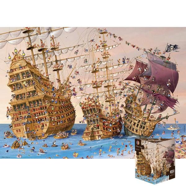 Piraci (Puzzle+plakat) - Sklep Art Puzzle