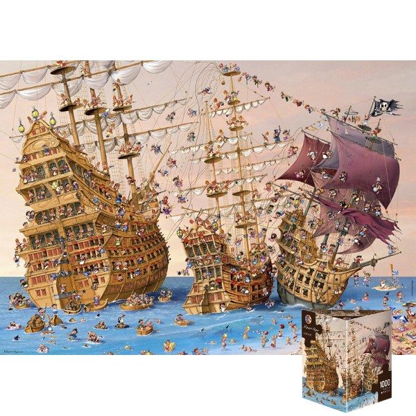 Piraci (Puzzle+plakat),  Ruyer - Sklep Art Puzzle
