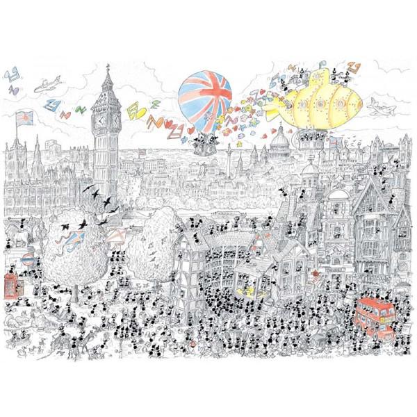 Mrówki zwiedzają zabytki w Londynie - Sklep Art Puzzle