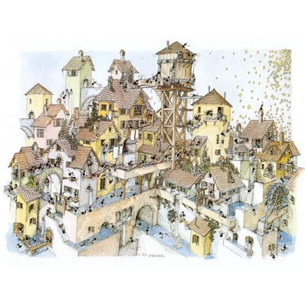 Mrówki w Wodnym Mieście - Sklep Art Puzzle