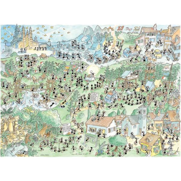 Mrówki organizują obóz harcerski - Sklep Art Puzzle
