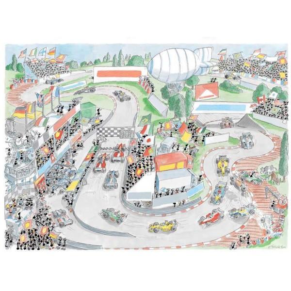 Mrówki biorą udział w Formule 1 - Sklep Art Puzzle