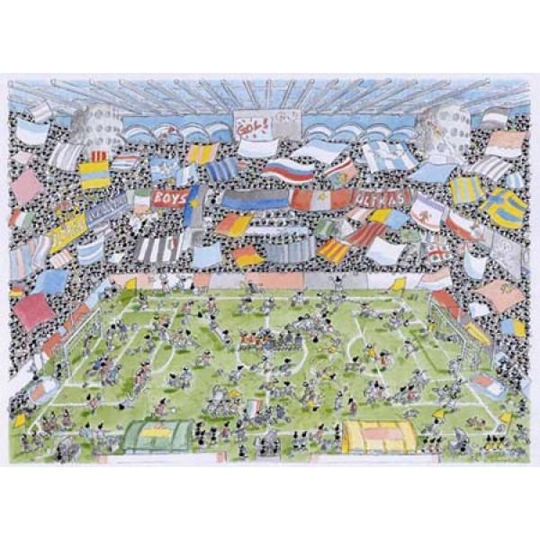 Mrówki uczestniczą w meczu piłkarskim - Sklep Art Puzzle