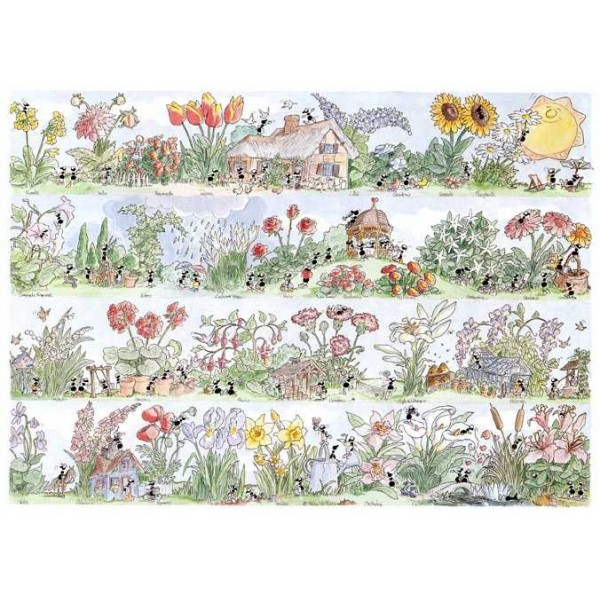 Mrówki kochają kwiaty - Sklep Art Puzzle