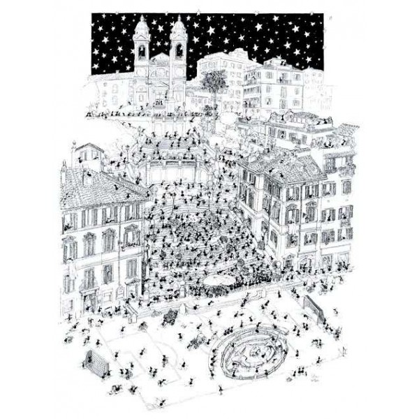 Mrówki turystki  zwiedzają Rzym - Sklep Art Puzzle