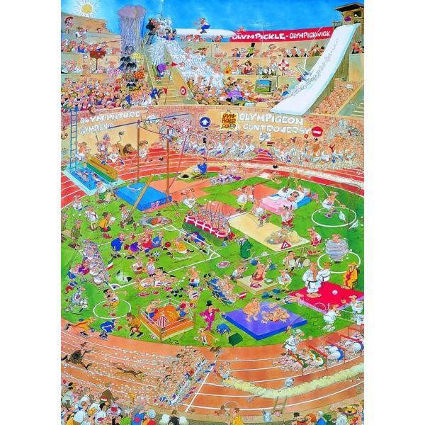 Zwariowana olimpiada - Sklep Art Puzzle