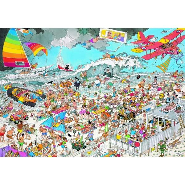 Szaleństwo na plaży - Sklep Art Puzzle
