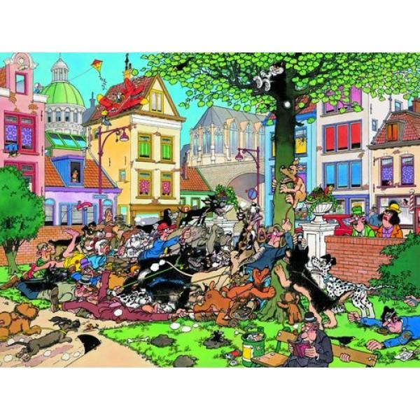 Złapać kota !!!, Jan van Haasteren - Sklep Art Puzzle
