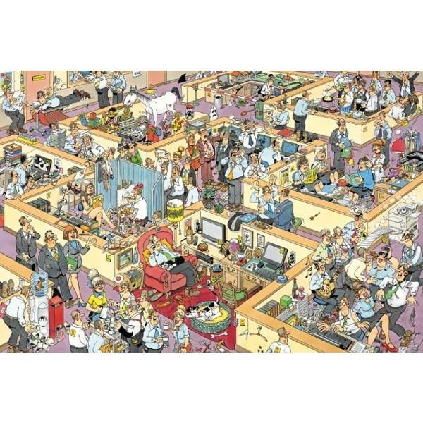 Szaleństwo w biurze - Sklep Art Puzzle