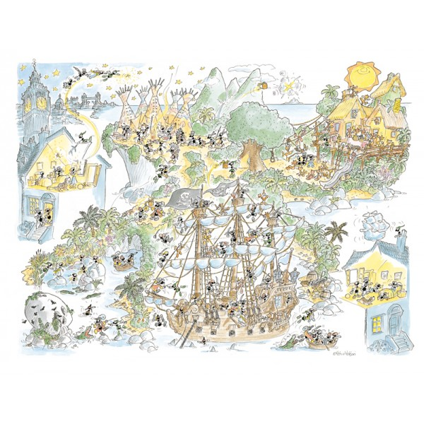 Mrówki wśród piratów - Sklep Art Puzzle