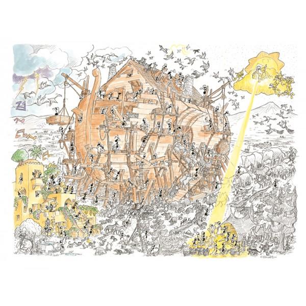 Mrówki budują Arkę Noego - Sklep Art Puzzle