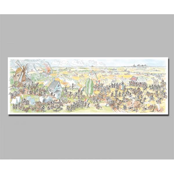 Mrówki uczestniczą w bitwie pod Waterloo - Sklep Art Puzzle