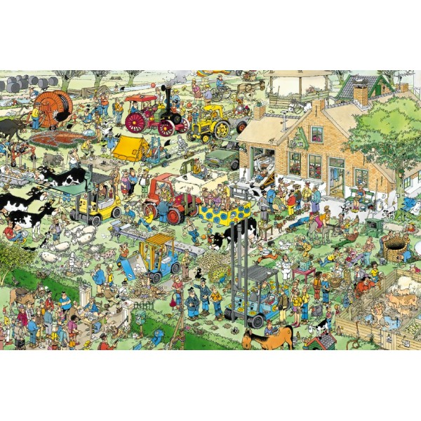 Na farmie - Sklep Art Puzzle