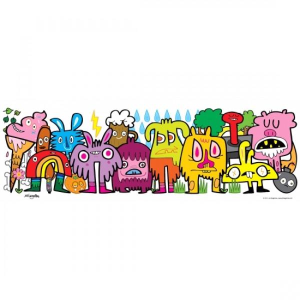Doodle w parku, Burgerman - Sklep Art Puzzle