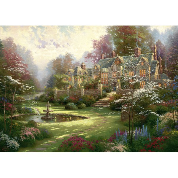 Wiosenny ogród - Sklep Art Puzzle