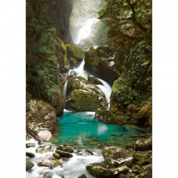 Nowa Zelandia, Wodospady - Sklep Art Puzzle