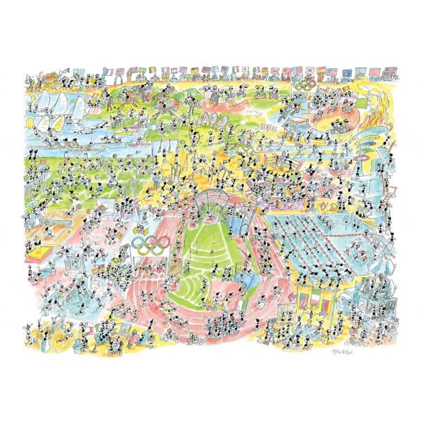 Mrówki uczestniczą w olimpiadzie - Sklep Art Puzzle