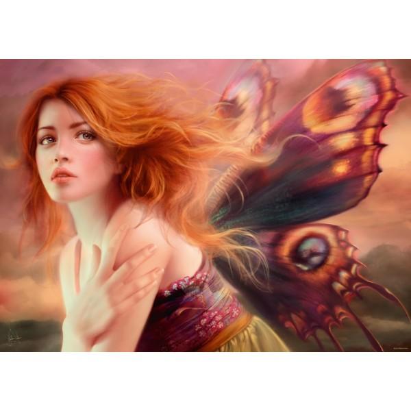 Motyl, Delon Melanie - Sklep Art Puzzle