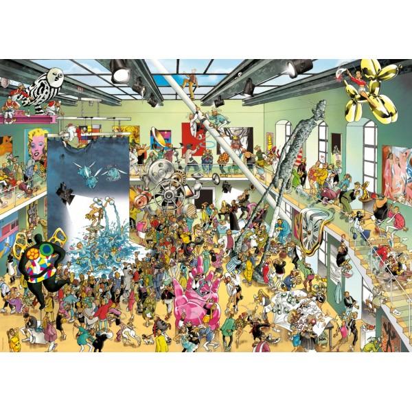 Muzeum Sztuki Współczesnej na wesoło (Puzzle+plakat) - Sklep Art Puzzle