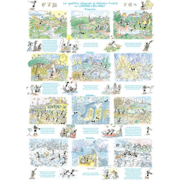 Mrówki występują w operze Vivaldiego - Sklep Art Puzzle