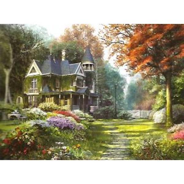 W wiktoriańskim ogrodzie - Sklep Art Puzzle