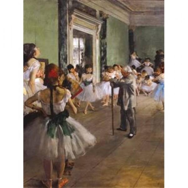 Klasa baletowa, Degas - Sklep Art Puzzle