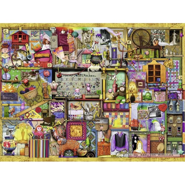 Idealny regał, Colin Thompson - Sklep Art Puzzle