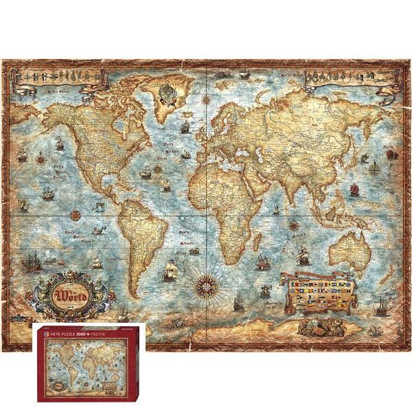 Świat (Puzzle+ plakat), Rajko Zigic - Sklep Art Puzzle
