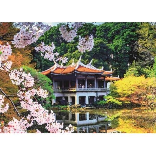 Japonia, Kwitnący ogród - Sklep Art Puzzle