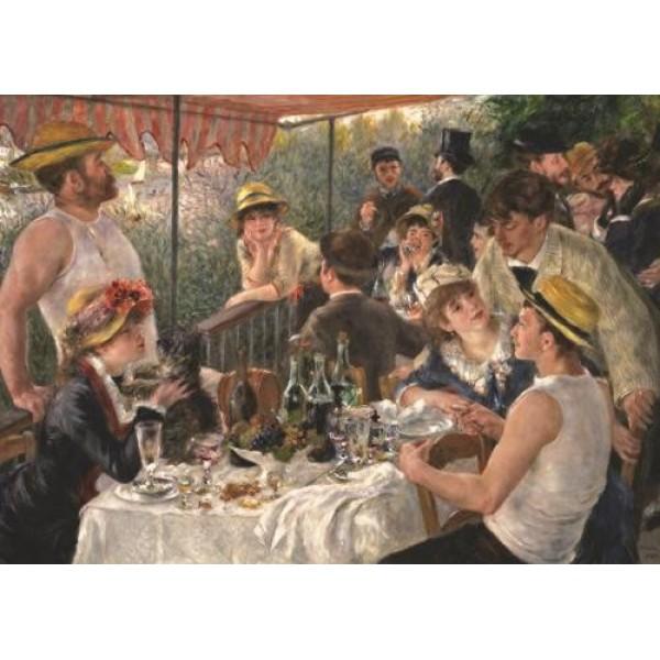 Renoir, Śniadanie wioślarzy - Sklep Art Puzzle