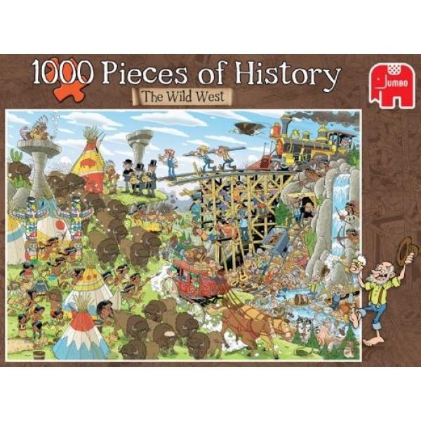Historia w kawałkach, Dziki Zachód - Sklep Art Puzzle