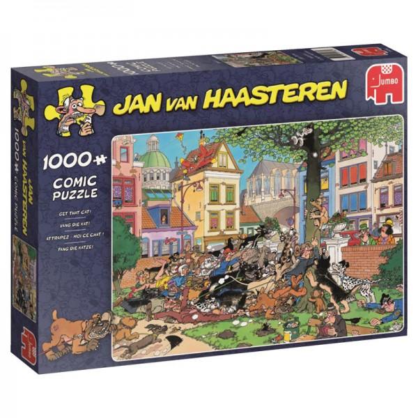 Złapać kota, Jan Van Haasteren - Sklep Art Puzzle