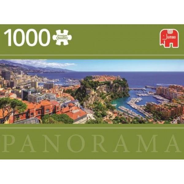 Widok na Monte Carlo ( panorama)  - Sklep Art Puzzle