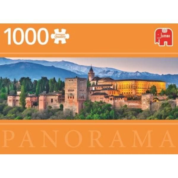 Hiszpania, Alhambra ( panorama) - Sklep Art Puzzle
