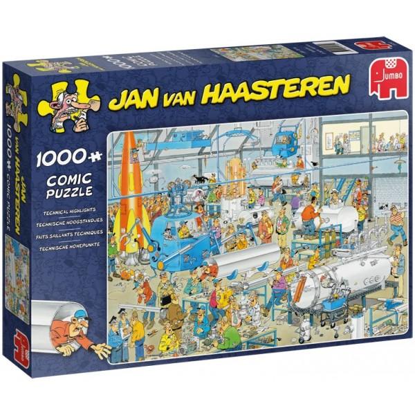 Szaleństwo w fabryce, Jan Van Haasteren - Sklep Art Puzzle