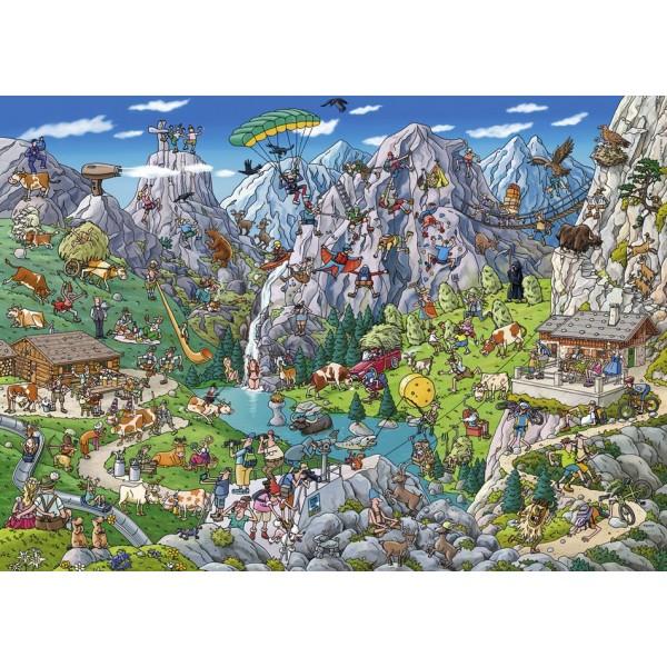 Szalona wyprawa w góry ( Puzzle+ plakat), Tanck - Sklep Art Puzzle