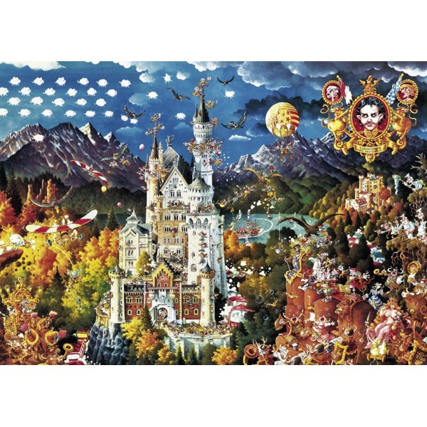 Zamek ( Puzzle+plakat ) - Sklep Art Puzzle