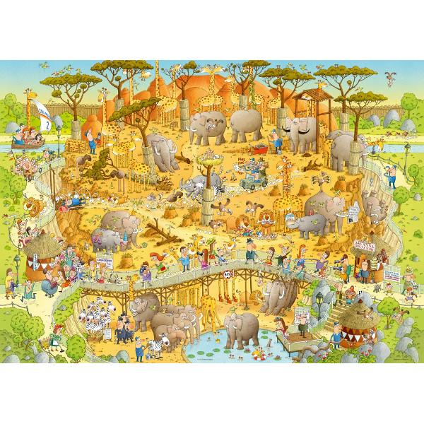 Funky Zoo -część I - Afrykańskie ZOO, Degano - Sklep Art Puzzle